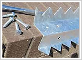 Anti Climb Spikes Berming Security Fencing Co Anti Climb Spikes