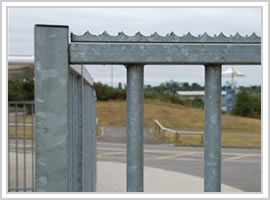 Sesecurity Fence Spikes Berming Security Fencing Co Anti Climb